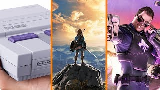 SNES Classic GONE for Now + Breath of the Wild Multiplayer! sort of + Sex Tape Marketing - The Know