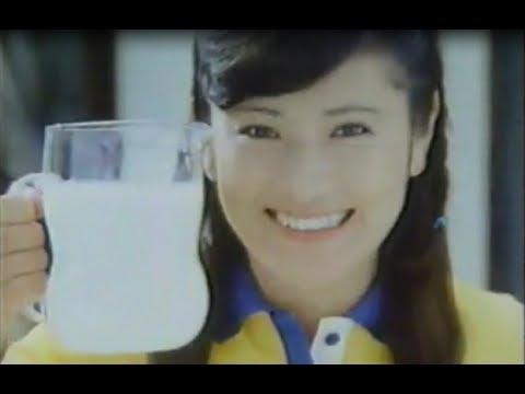 長渕剛の妻、志穂美悦子 CM動画集 1980年代~
