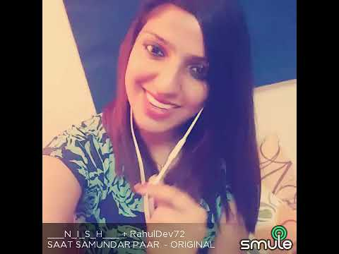 Beautiful song ...Saat samundar. I'm trying to sing - YouTube