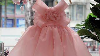 #260 Đầm Bé Gái Thời Trang Giá Rẻ | Thời Trang Trẻ Em Cao Cấp