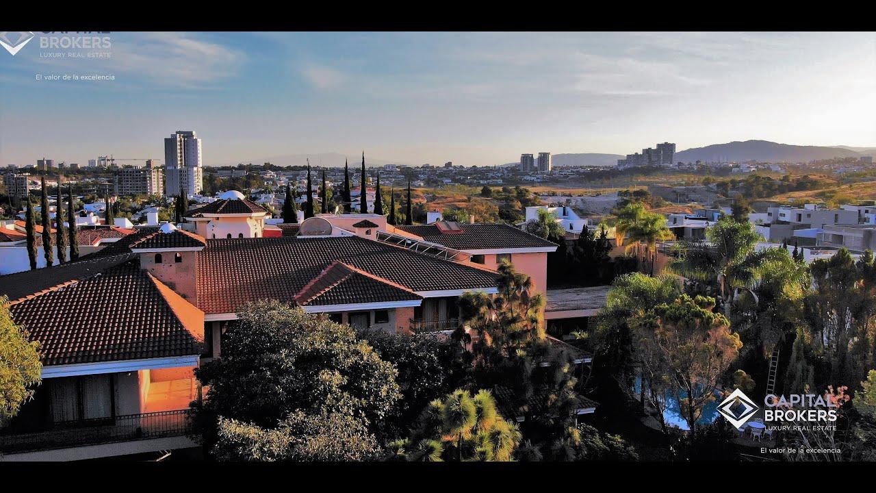 Mansiones de Lujo Puerta de Hierro Guadalajara 2020 Video Aéreo #NigelStandford #PuertadeHierro