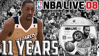 NBA Live 08 11 years later...