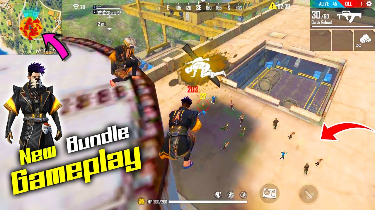 Factory Amazing Fight With New Eclipse Hollowface Bundle Op Game Garena Free Fire P K Gamers Youtube