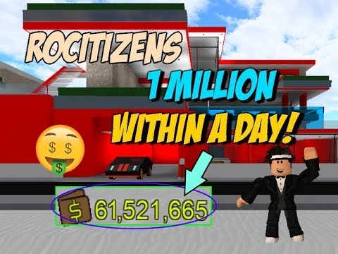 Rocitizens: NEW 1 MILLION MONEY CODE!?! [WORKING] [MARC ...
