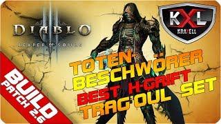 BUILD DIABLO 3 - Totenbeschwrer BESTER BUILD TragOul  GRift 113 STEP-BY-STEP  Guide
