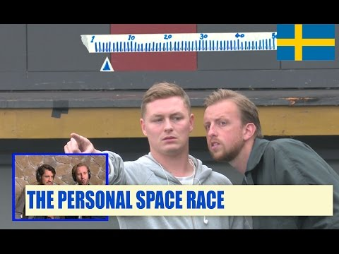 Streetlab - Sociolympics: The personal space race (Zweden)