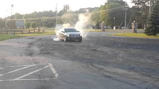 My second burnout 2006 Cadillac CTS-V