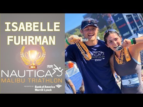 Isabelle Fuhrman WINS the Nautica Triathlon Race in her Division featuring Alexander Ludwig