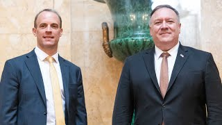 In full: Dominic Raab holds joint press conference with Mike Pompeo