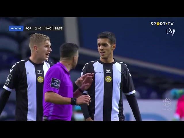 Goal | Golo Marega: FC Porto (2)-0 CD Nacional (Liga 20/21 #10)