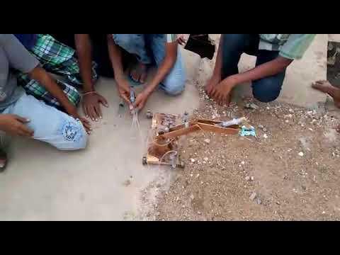 Mothers lap school kollapur student create proklen with mt siranjes