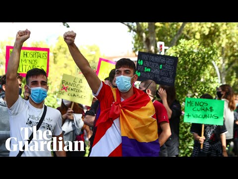 Frustrated Madrid residents call for new approach in Covid pandemic