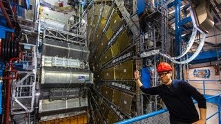 Zapętlaj Tested Visits The Large Hadron Collider and ATLAS Experiment | Adam Savage's Tested