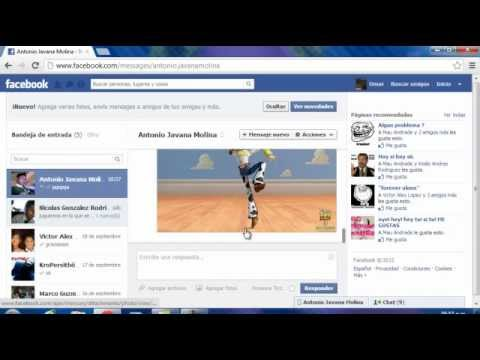 Como Enviar Una Foto Por Inbox En Facebook