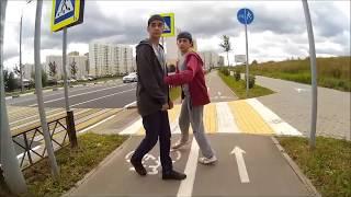 Велодорожка от ТЦ Июнь, г. Мытищи