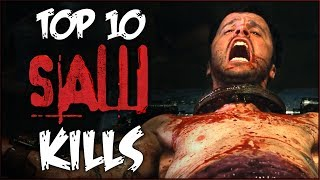 TOP 10 KILLS from the SAW Series