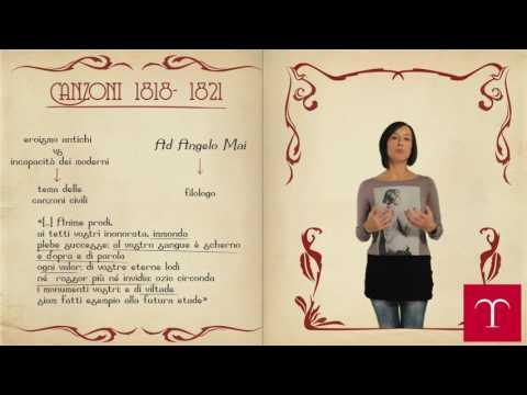 Le Canzoni di Giacomo Leopardi - Temi e pensieri