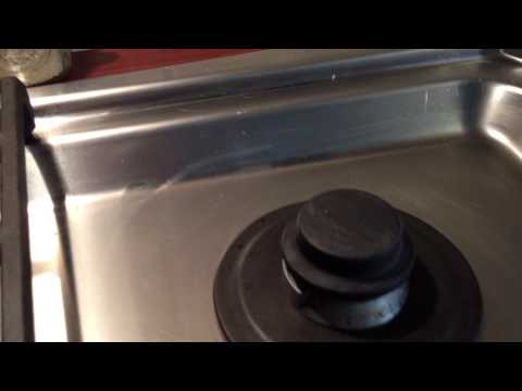 Electrolux stove, oven, cooktop, gas BURNER WON'T IGNITE. repair, clean, fix,