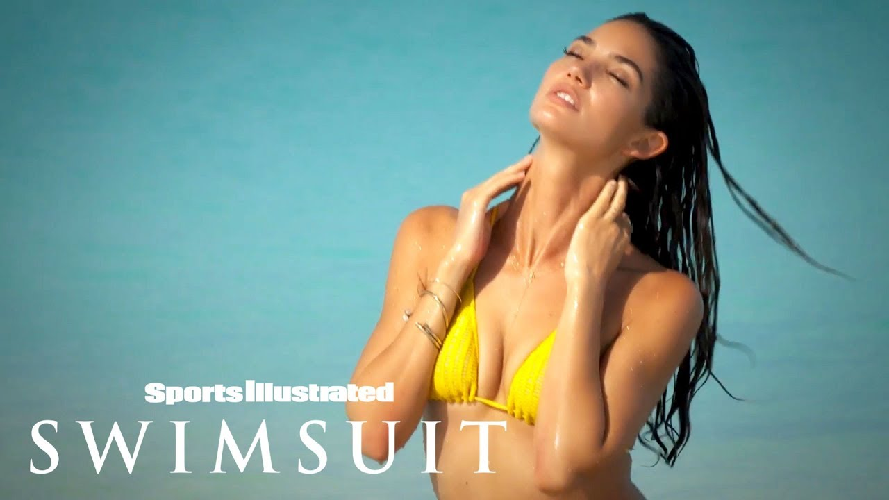 Lily Aldridge Soaks Up The Sun In Turks & Caicos | Intimates | Sports Illustrated Swimsuit