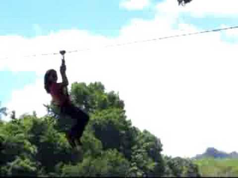 Zip-line, Pulhapanzak Waterfalls 1
