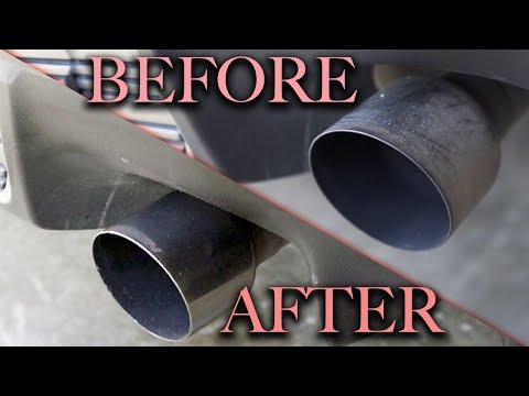 Secret To Cleaning and Polishing Exhaust Tips