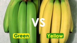 Green Banana Vs Yellow Banana Which One Is Better For Your Health  How To Keep Bananas Fresh