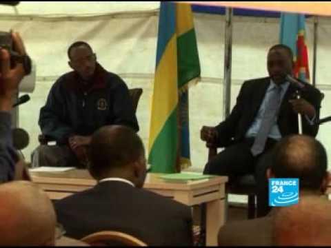France 24 La rencontre Kabila Kagame entérine la reprise des relations diplomatiques France 24