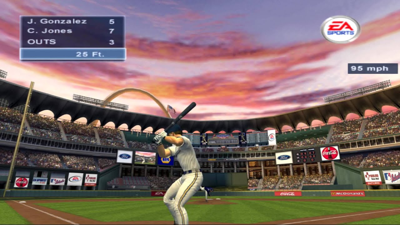 Triple Play Baseball 2002 Home Run Derby Ps2 Hd 1080 Youtube