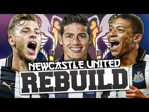 REBUILDING NEWCASTLE UNITED!!! FIFA 17 Career Mode