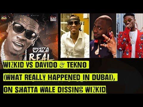 Wizkid Vs Davido & Tekno (Why They Fought...