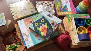 Развивающие и обучающие игрушки от 2 лет: деревянные, конструкторы, мозаики, пазлы, бизиборды.