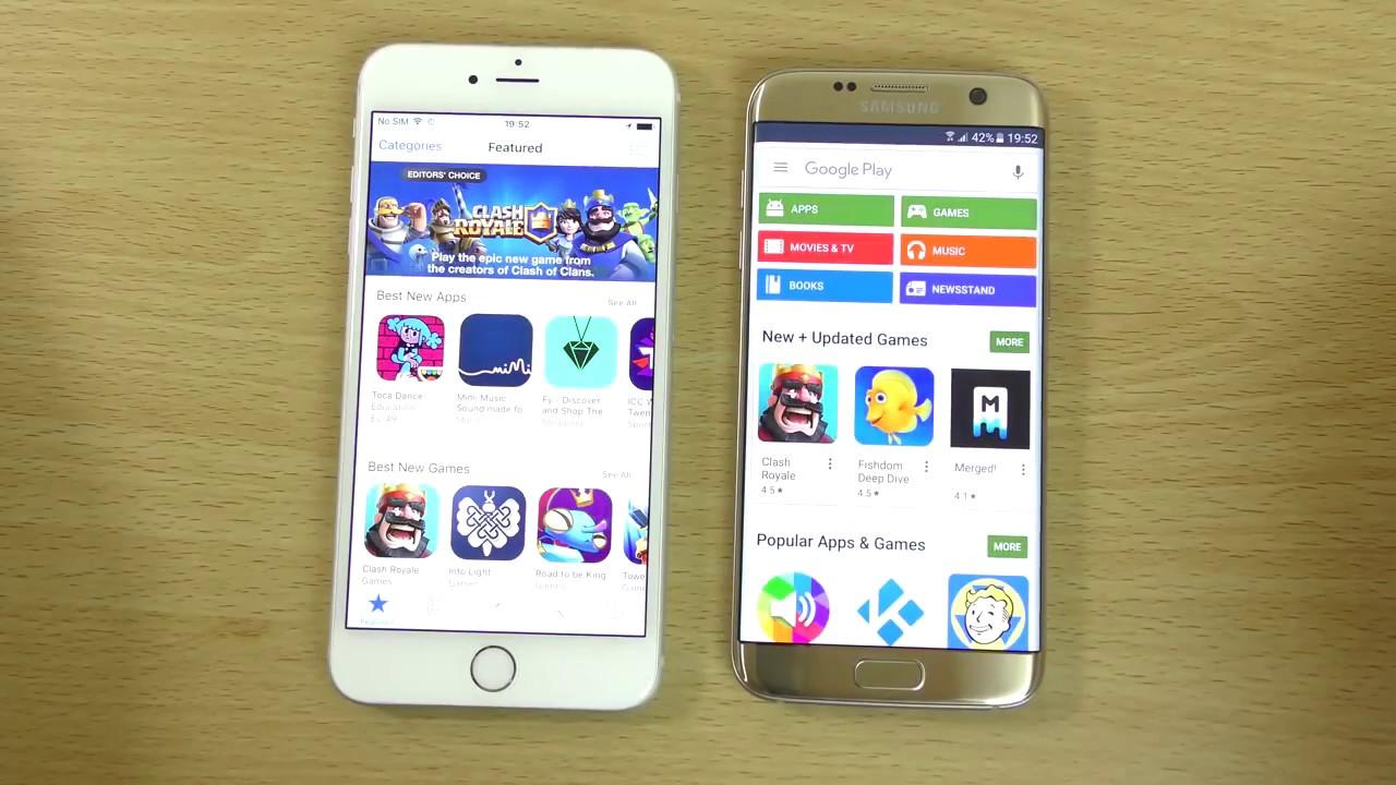 Iphone 6s Plus Vergleich Galaxy S7 Edge