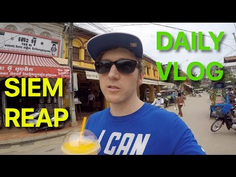 Hunting Vegan Food and Treadmill Running in Cambodia