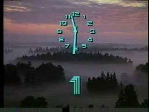 Svenska TV-klockor 1959-2008