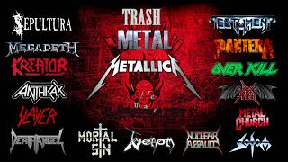 THRASH METAL Only From 1985 1990 Bands Classic Full Songs M