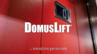DomusLift S-Small, mini ascensore per piccoli spazi