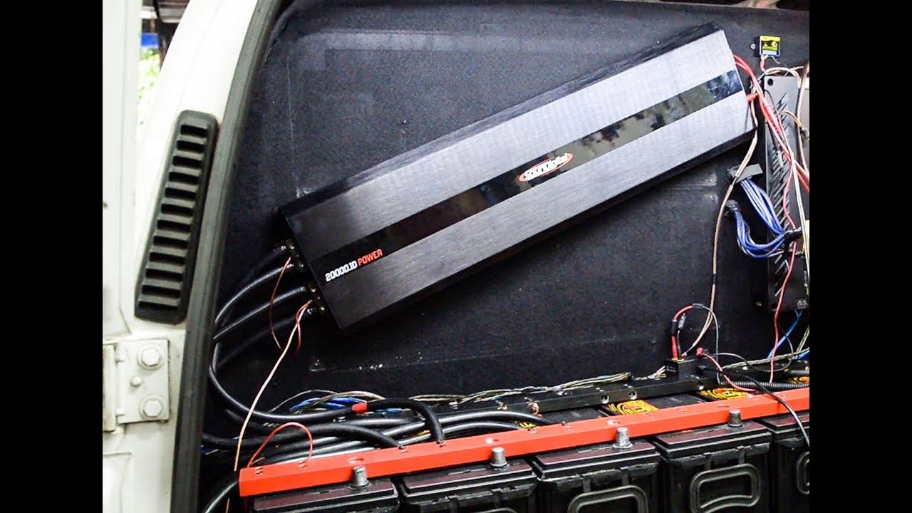 2º Teste Soundigital 20 Mil Watts Linha Power  Agora bem alimentada