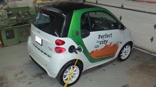 Smart Electric Car - First look at car options & motor