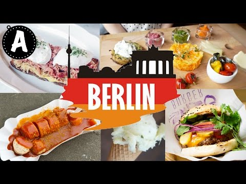 WHERE AND WHAT TO EAT IN BERLIN