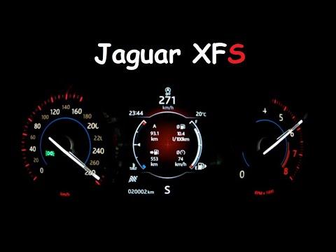 2018 Jaguar XFS Beschleunigung / Acceleration / Vmax