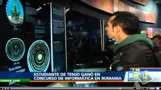 Christian Vargas, estudiante de UNIMINUTO ganó Medalla de Bronce en Rumania.