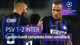 PSV vs Inter (1-2) UEFA Champions League Highlights