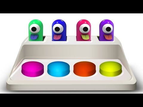 Learn Colors For Children | Surprise Toys & Wooden Educational Toys For Kids  | Color World EDU