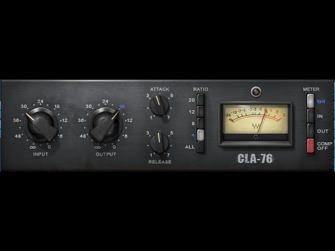 How to use 1176 Compressor Plugins - Compression for Beginners