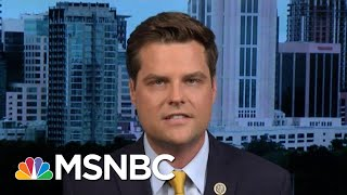 Hallie Jackson To Gaetz: 'Why Do You Think The Rules Do Not Apply To You?' | Hallie Jackson | MSNBC