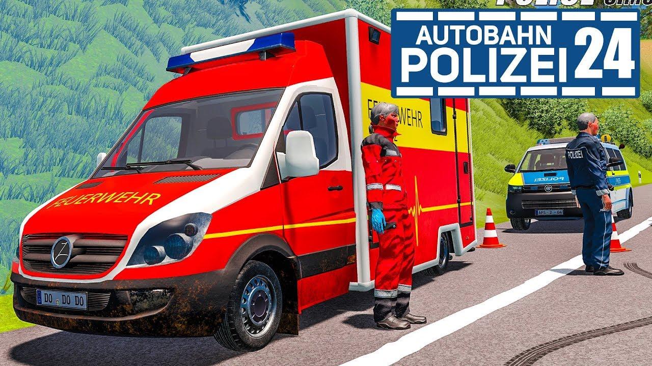 Schwerer Unfall durch LKW! AUTOBAHNPOLIZEI-SIMULATOR 2 #24 ...