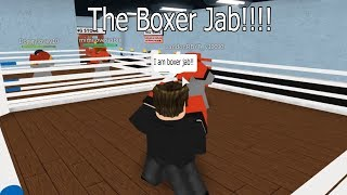 Jab The Boxer In Roblox Ro-Boxing!
