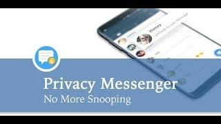 Privacy Messenger Tutorial