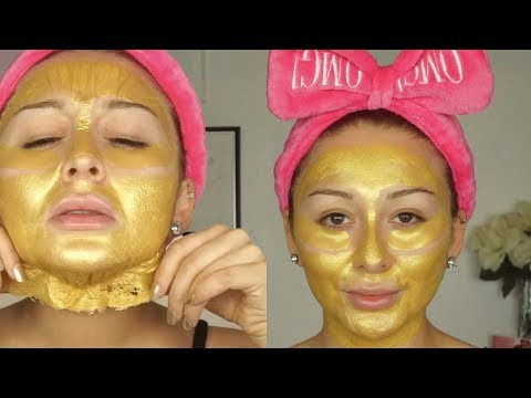 Gold peel off mask review | Mask Mondays Yes Hipolito Mp3