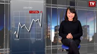 InstaForex tv news: Greenback mengumpulkan momentum  (23.04.2018)